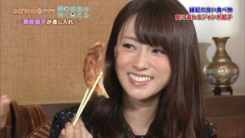 深田恭子(35)エロ目線不可避の疑似フェラ食レポが抜けるww【エロ画像】