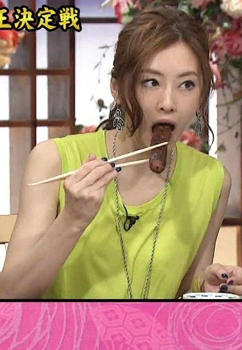 北川景子(27)が肉棒咥えてキムタクにドン引きされる羞恥プレイ【エロ画像】