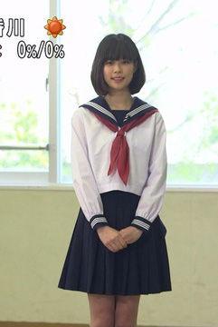 鈴木唯アナ(24)のセーラー服姿がイメクラ感あって抜けるww【エロ画像】
