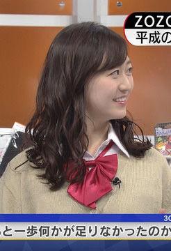 片渕茜アナ(25)のJKコスプレがイメクラ感あってエロいww【エロ画像】