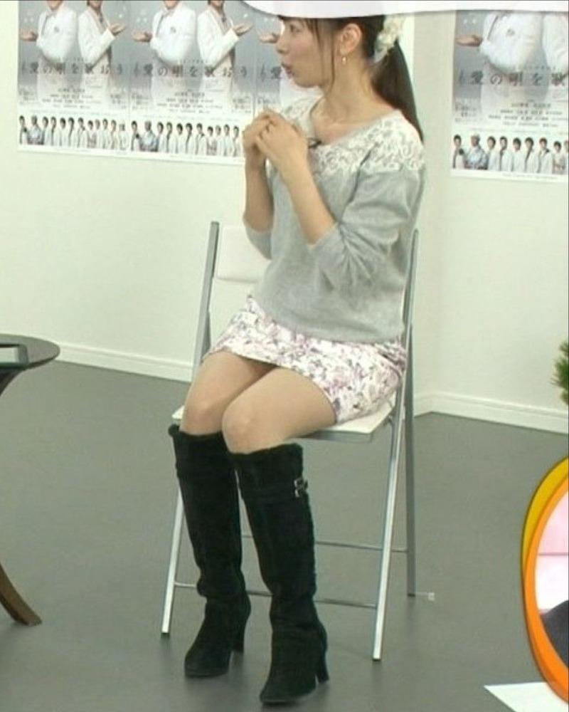 皆藤愛子アナ(29)のミニスカ太ももけしからんwwwwww【エロ画像】