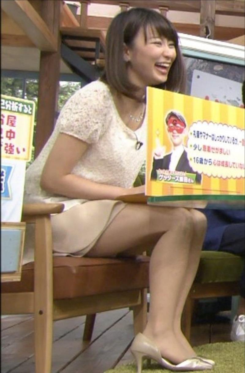 枡田絵理奈アナ(28)の太ももが肉付き良すぎてフルボッキwww俺の堂林でこの肉体を弄びたいwww【エロ画像】
