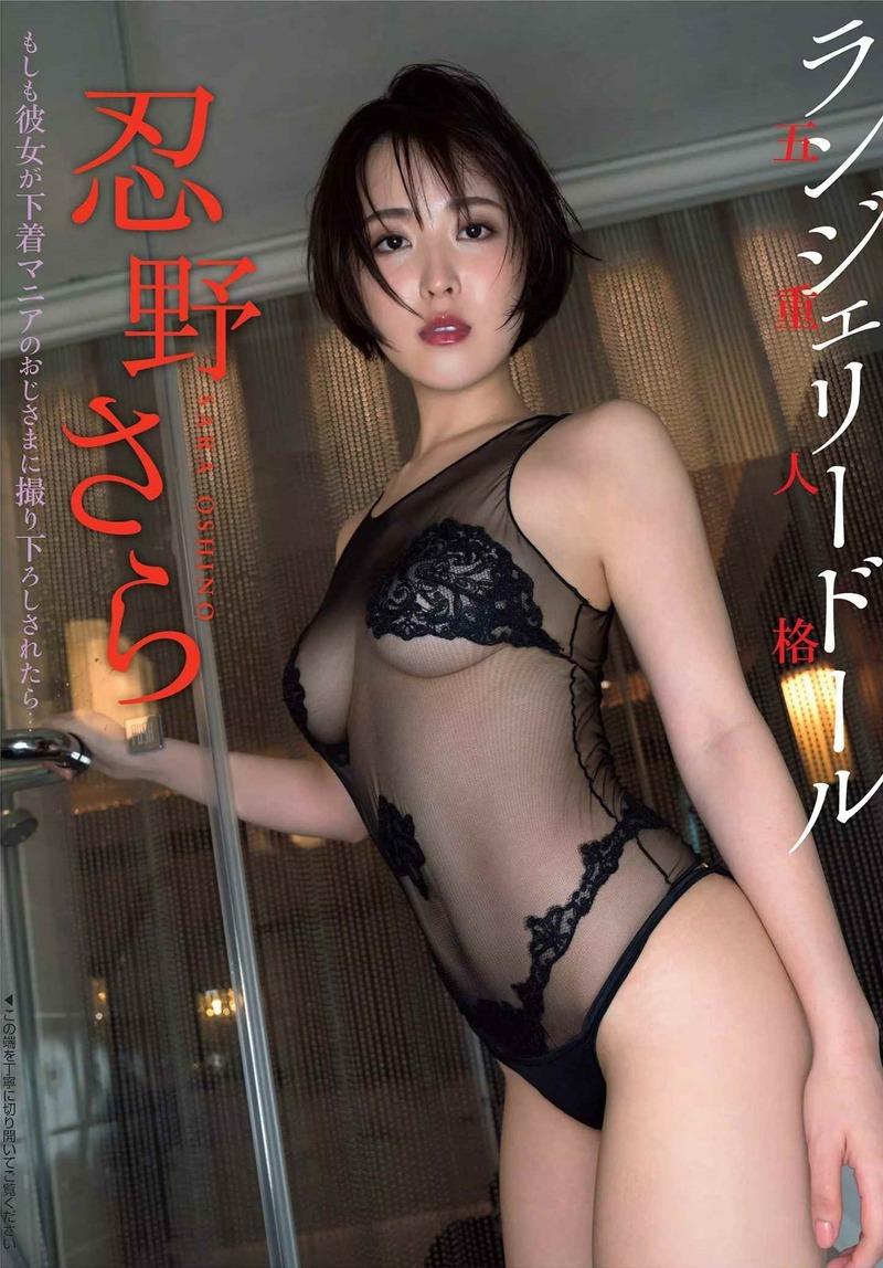 忍野さら(23)のスケスケのグラビアが抜けるww【エロ画像】
