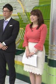 鷲見玲奈アナ(27)のFカップの着衣巨乳が相変わらずエロいww【エロ画像】