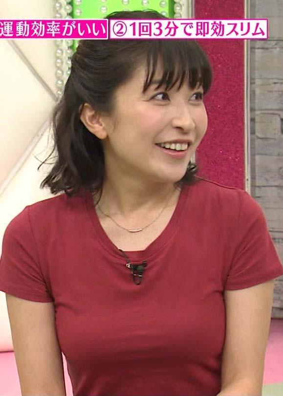小野真弓(36)熟女の着衣ニット巨乳がなんかエロいww【エロ画像】