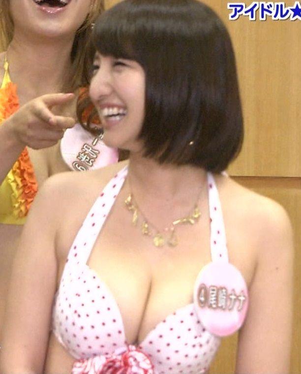 尾崎ナナ(31)がアイドルリーグに出る度オナるほど色気がはんぱない【エロ画像】