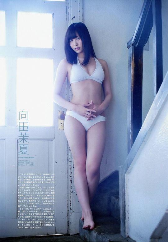 SKE向田茉夏(17)が巨乳だと確認が取れたので筆頭推しメンに【エロ画像】