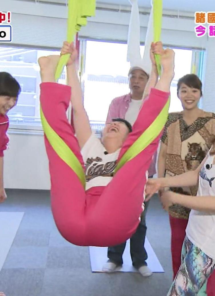 諸國沙代子アナ(25)のV字開脚が放送事故レベルでエロいww【エロ画像】