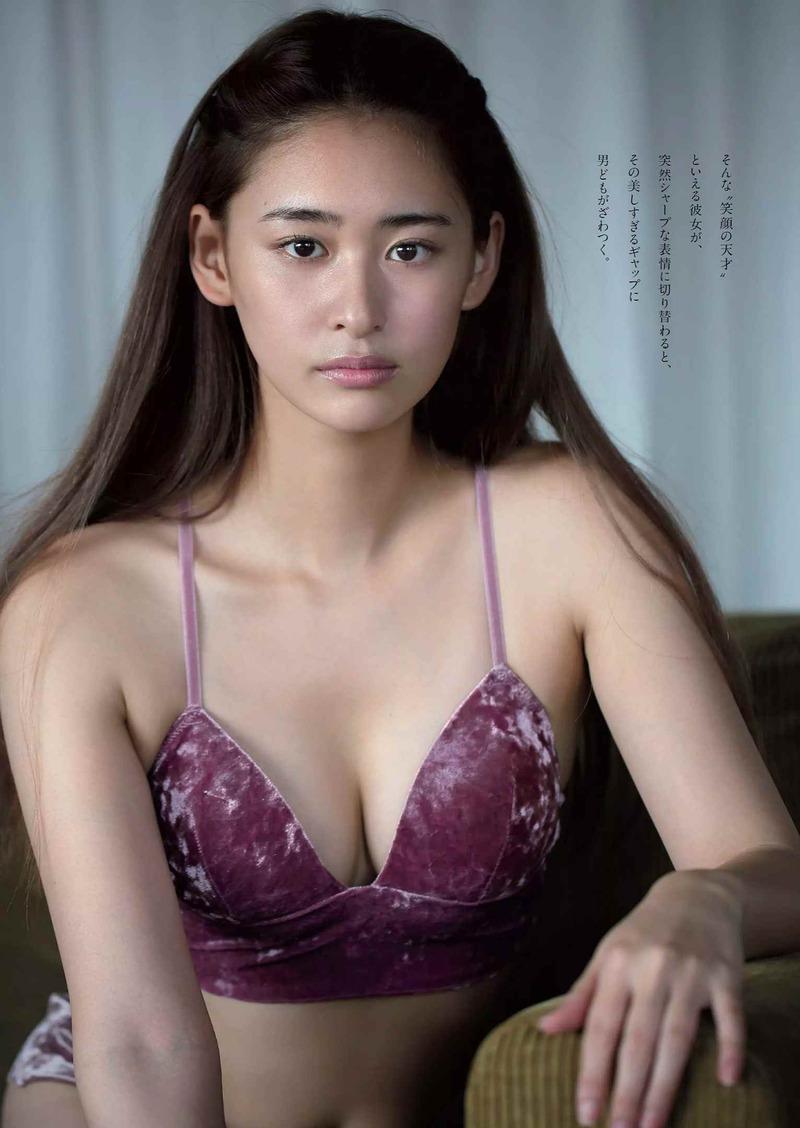 柳美稀(20)太眉女の美乳が抜ける最新グラビアww【エロ画像】