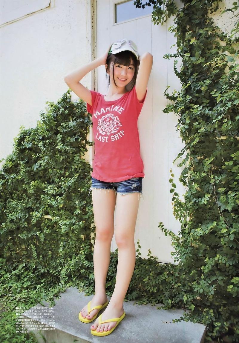 AKB・大島涼花(15)が大人の肉体にwww15歳でこのボディはたまらんwww【エロ画像】