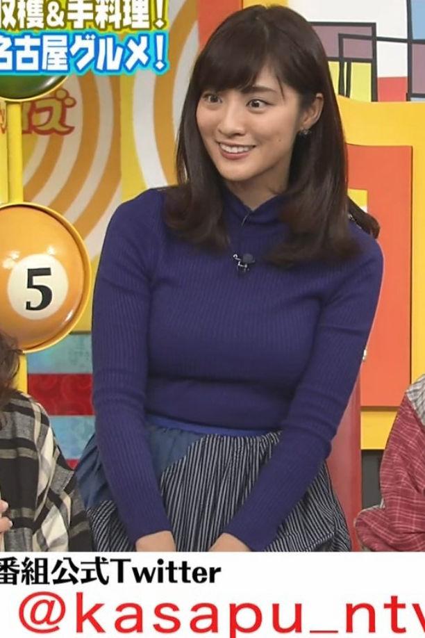 岩本乃蒼アナ(26)ムッチリ着衣ニット巨乳がけしからんww【エロ画像】