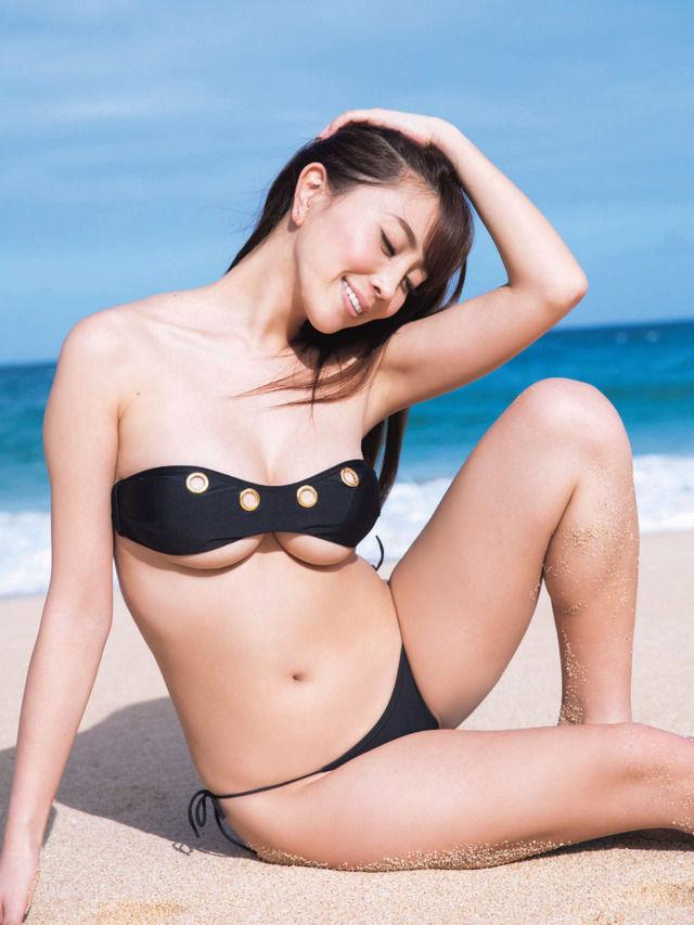 森咲智美(25)露出度抜群のGカップボディが抜けるww【エロ画像】