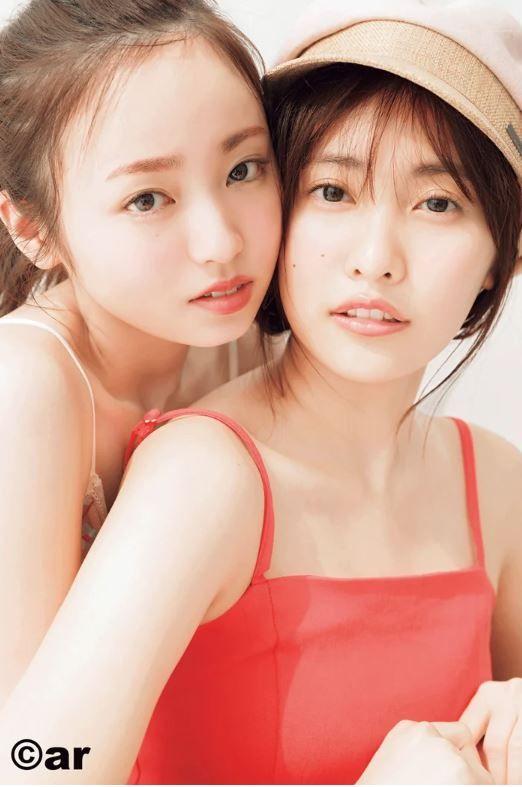 佐野ひなこ(24)の今泉佑唯(20)とのツーショットグラビアがエロいww【エロ画像】