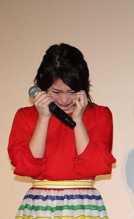 志田未来(23)泣き顔もエロカワ!相変わらず処女っぽい見た目だなww【エロ画像】