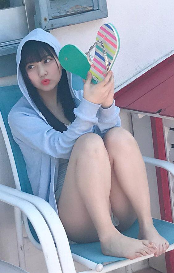 HKT48田中美久(16)のオフショットや自画撮りがエロいww【エロ画像】
