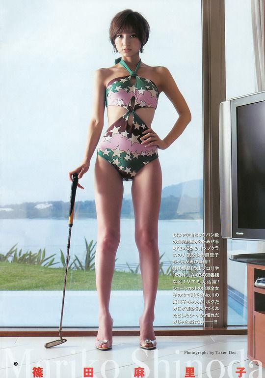 AKB卒業した篠田麻里子(27)のエロすぎる大人ボディ見ただけで発射しちゃった【エロ画像】