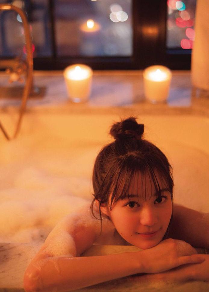 生田絵梨花(21)の全裸入浴シーンの写真集オフショットww【エロ画像】