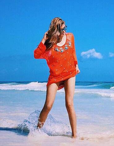 ローラ(25)のドスケベ水着姿がたまらん!Instagramでむちむちおっぱいとドスケベビキニ披露!【エロ画像】