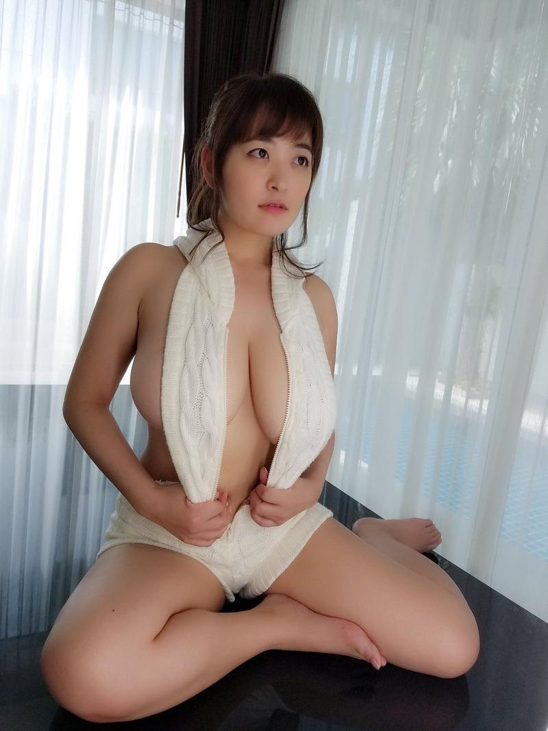 柳瀬早紀(29)Iカップのやなパイが隠しきれないエロショットが抜けるww【エロ画像】