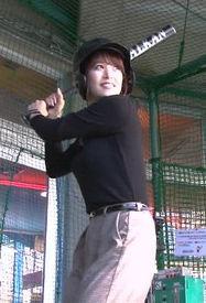鷲見玲奈(28)の乳揺れバッティングがエロいww【エロ画像】