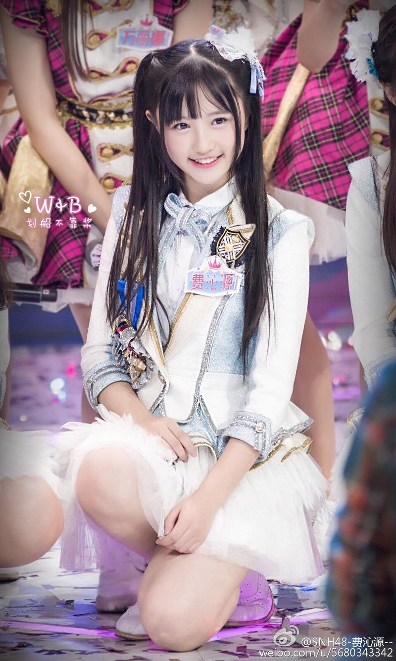 SNH48の費沁源/フェイ・チンユェン(16)ぐうカワ美少女すぎるww【エロ画像】