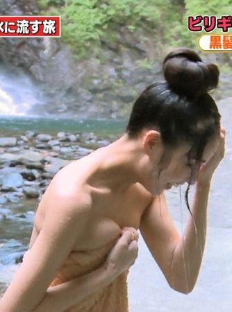 ビリギャル石川恋(23)の入浴シーンがマジエロい!グラビアも過激だし抜ける!【エロ画像】