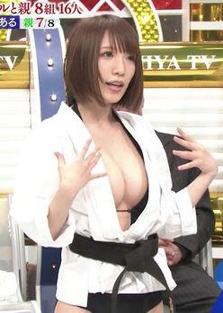 清水あいり(26)の童貞を殺す空手がくっそエロいww【エロ画像】