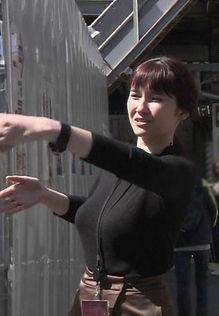 市川紗椰(31)のEカップの着衣巨乳おっぱいがクッソエロいww【エロ画像】