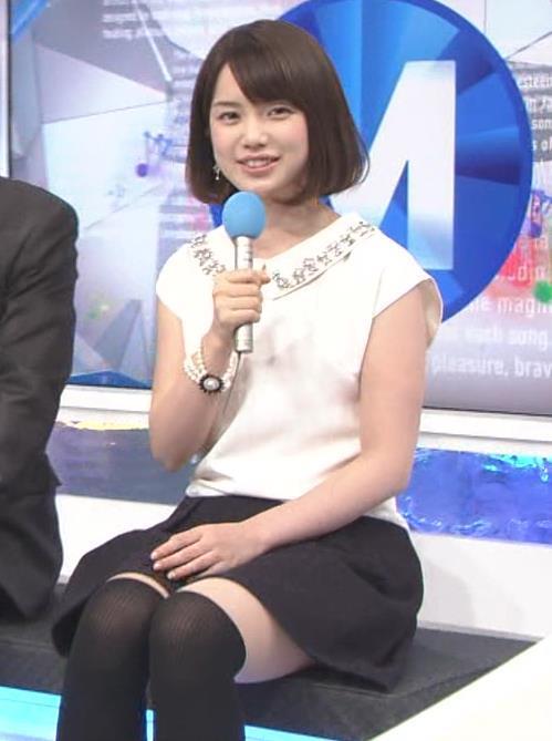 弘中綾香アナ(24)の色白ムチムチ太ももがエロ過ぎる!童顔女子アナのスベスベ美脚がたまりません【エロ画像】