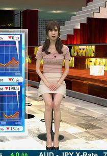 阿部菜渚美(23)のミニスカ美脚がパンチラしそうでけしからんww【エロ画像】