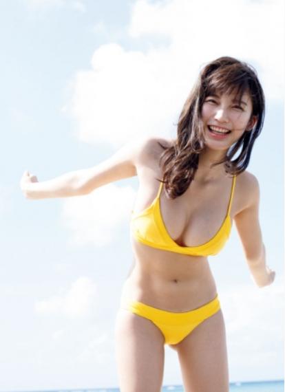 小倉優香(19)最新グラビアにヨガでのGカップの胸チラ姿がぐうシコww【エロ画像】