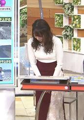 宇垣美里アナ(27)の着衣ニット巨乳がエロいww【エロ画像】