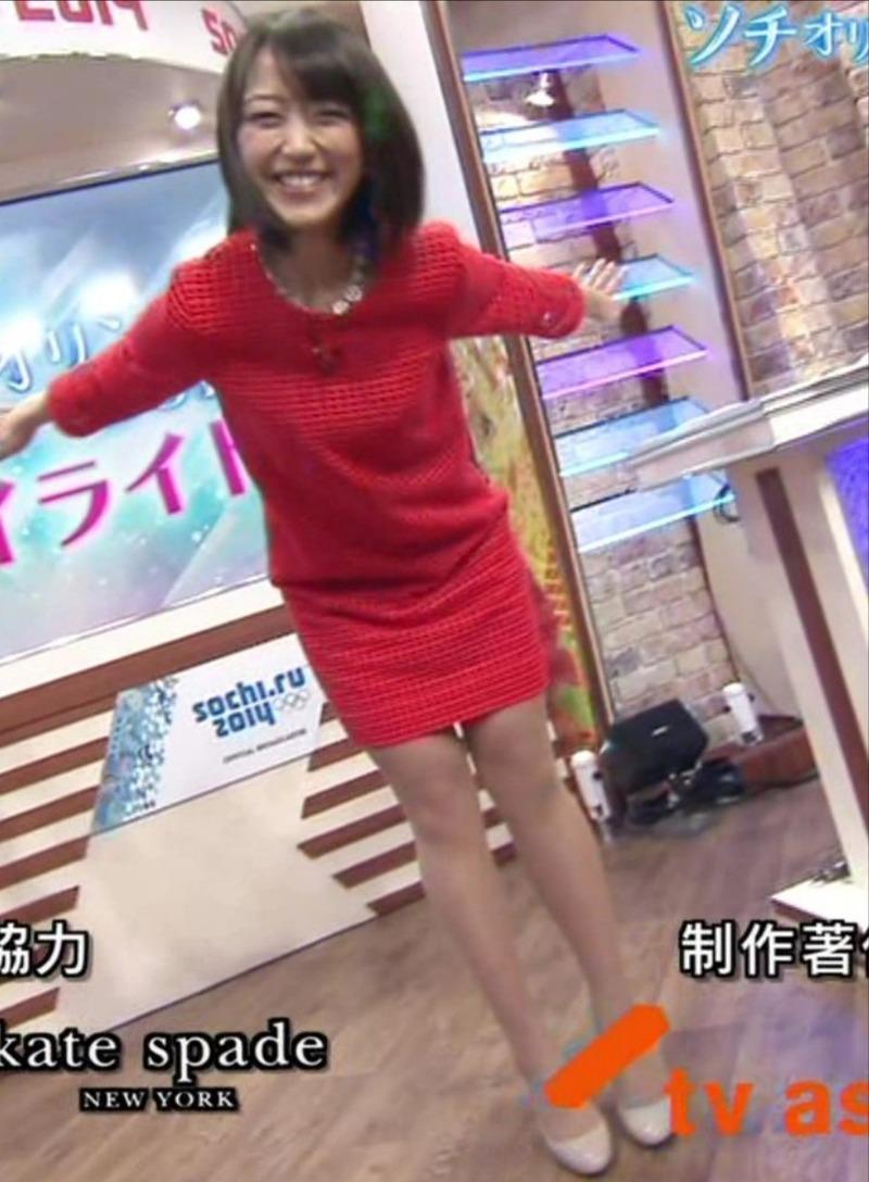 竹内由恵アナ(28)のミニスカ太ももくっそけしからんwww【エロ画像】