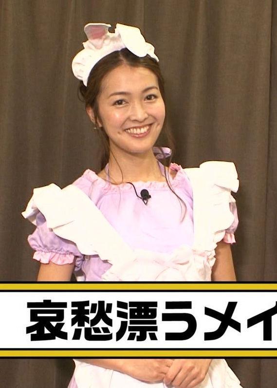 福田典子アナ(26)女子アナのメイドコスが妙に抜けるww【エロ画像】