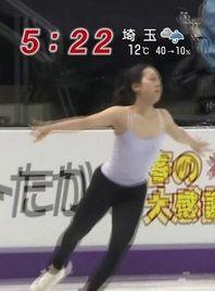 練習中の浅田真央がけしからん【エロ画像】