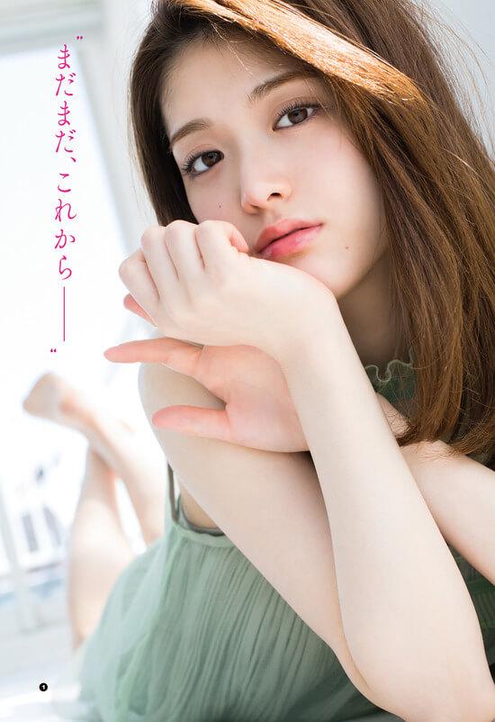 松村沙友理(26)のキャミ姿がセクシーで抜けるグラビアww【エロ画像】