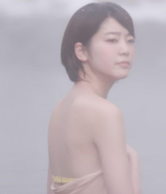 梨木まい(24)が秘湯ロマンで水着が見える放送事故ww【エロキャプ画像】