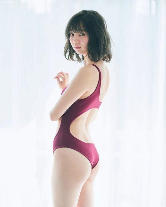 江野沢愛美(21)ノンノモデルのプリケツ水着グラビアがぐうシコww【エロ画像】
