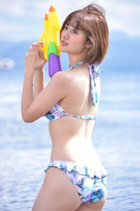 奥山かずさ(23)スーパー戦隊新ヒロイン美女の水着姿が抜けるww【エロ画像】