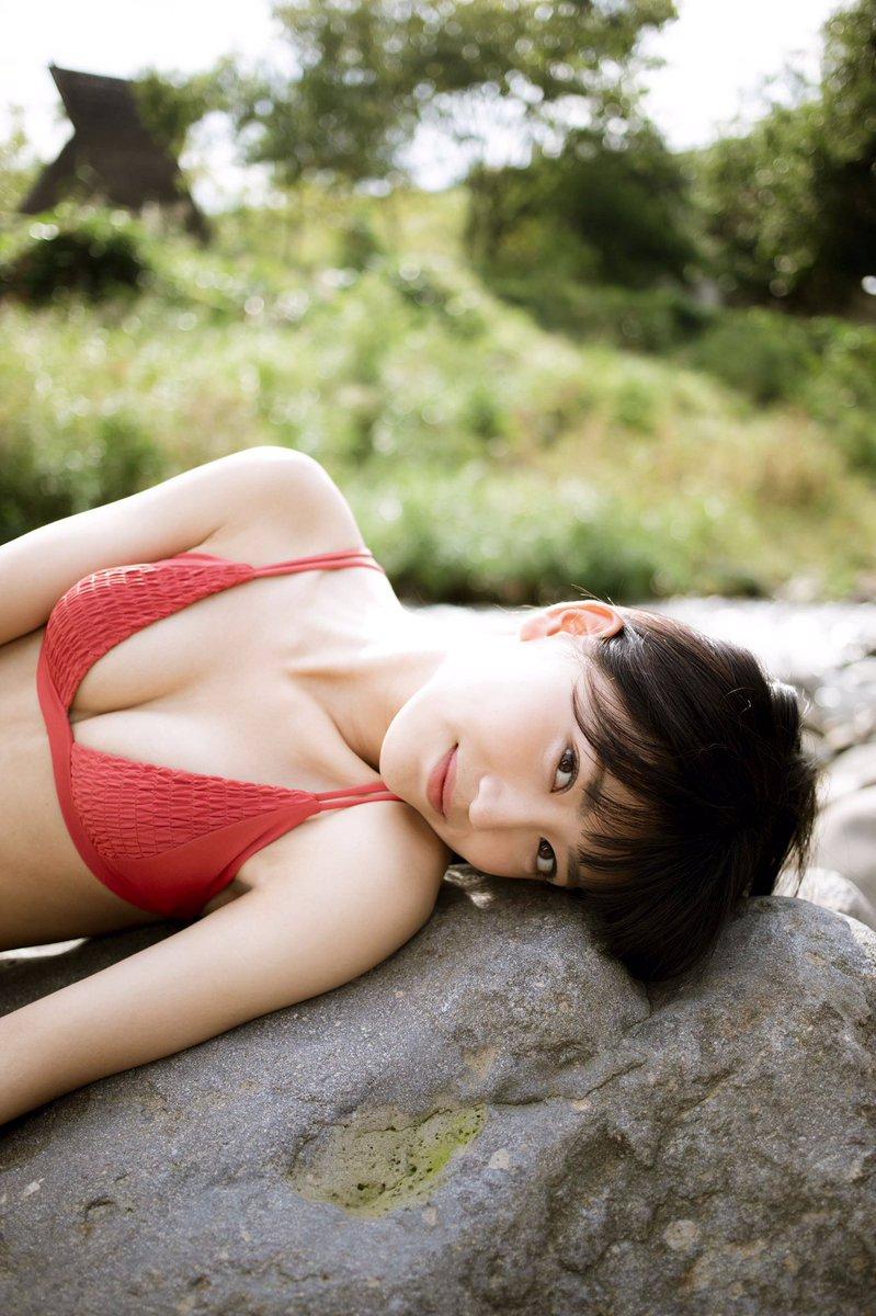 喜多乃愛(18)の水着写真集の胸チラがエロいww【エロ画像】