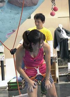 大田理裟(24)クライミングお姉さんがスタイル良くてエロいww【エロ画像】