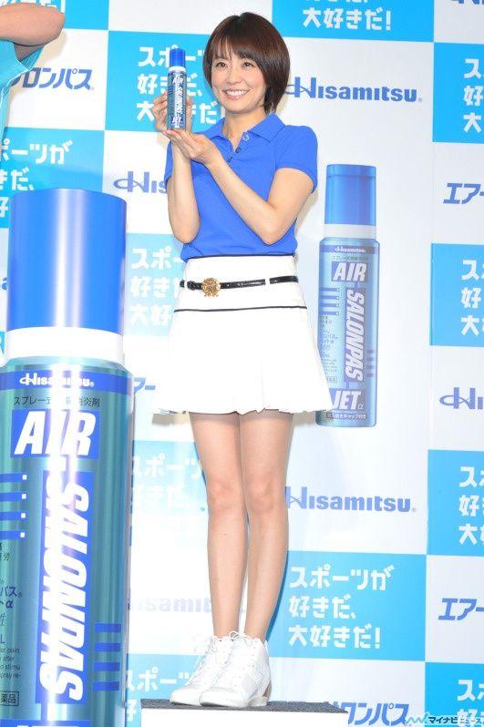 小林麻耶アナのミニスカ美脚にフルボッキ!ぶりっ子のドスケベ女子アナがエロ過ぎる!【エロ画像】