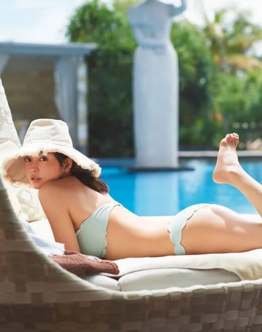 矢野未希子(32)の人妻美人モデルの水着グラビアがエロいww【エロ画像】