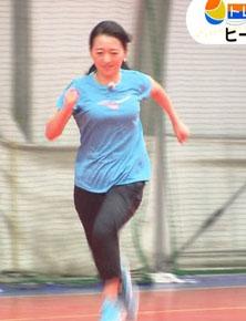 片渕茜アナ(25)の乳揺れランニングキャプがぐうシコww【エロ画像】