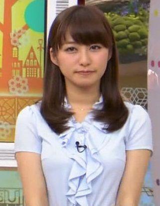 枡田絵理奈アナ(27)の着衣巨乳が水着より何倍もけしからん!【エロ画像】