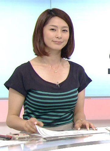 NHK最胸アナウンサー杉浦友紀(30)【エロ画像】