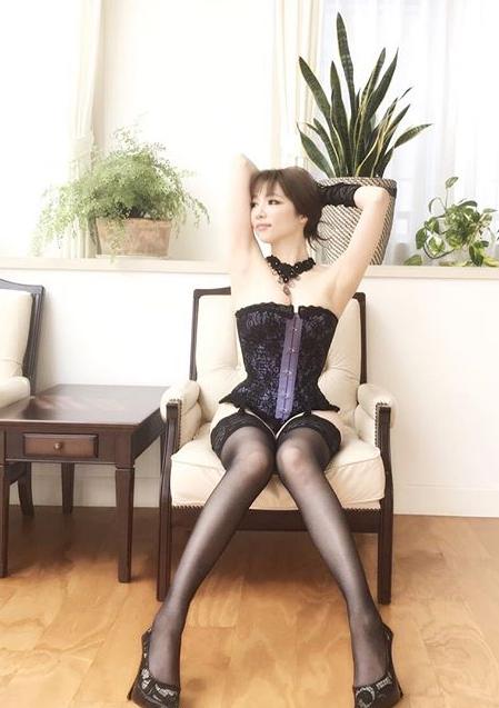 森下悠里(32)ボンテージ姿にGカップがクッソエロいww【エロ画像】