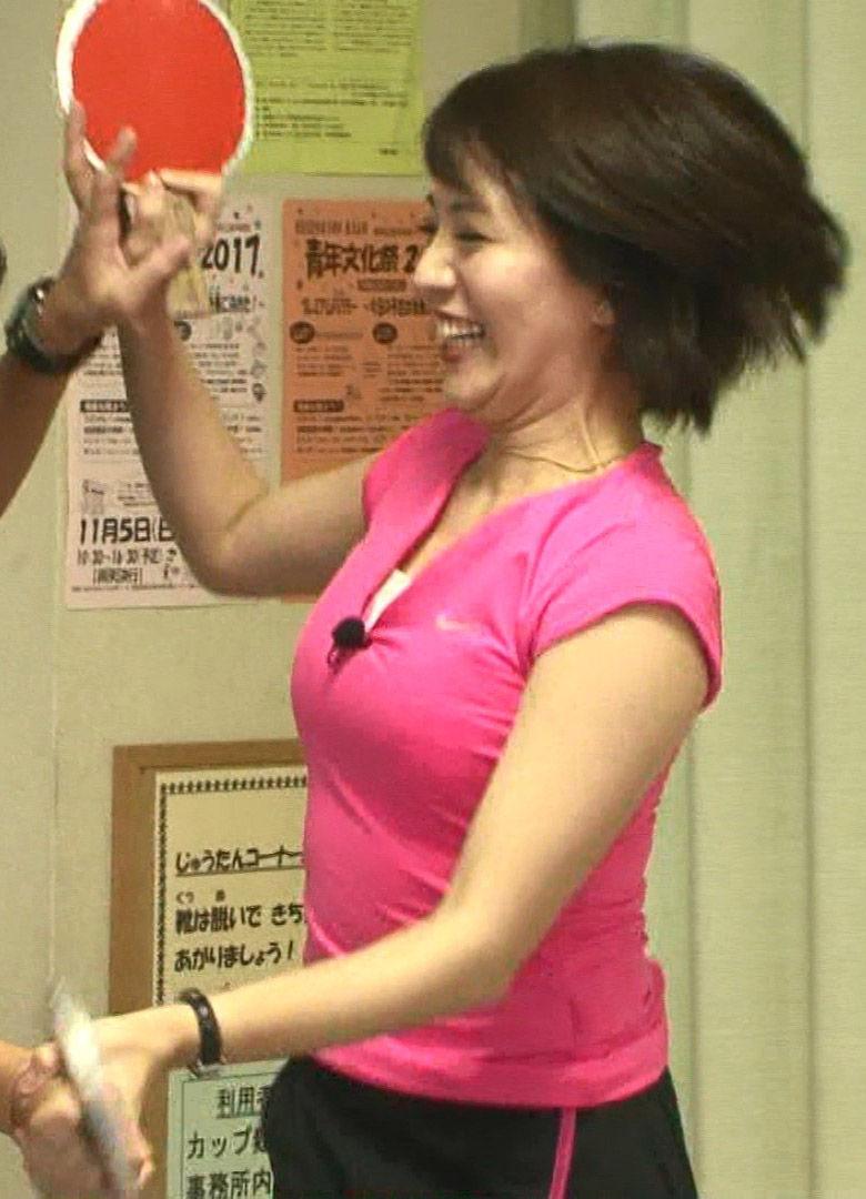 大橋未歩アナ(39)の着衣巨乳にモリマンがぐうシコww【エロ画像】