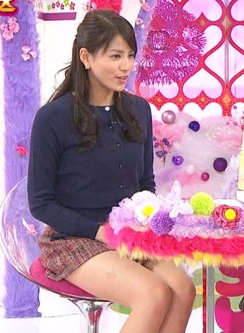 ユミパンこと永島優美アナの太ももがムチムチでたまらんwww美脚女子アナ最高【エロ画像】