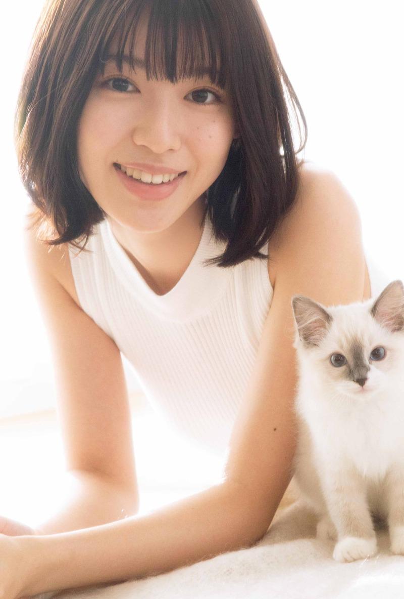 白石聖(20)の透明感溢れる美少女グラビアがエロいww【エロ画像】